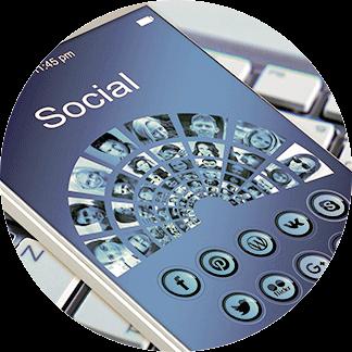 traduzione social media network
